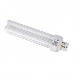 Lampe fluo compact TC-D/E 18W. 4000K. 4 broches. pour ballast électronique