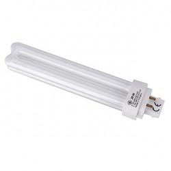 Lampe fluo compact TC-D/E 26W. 3000K. 4 broches. pour ballast électronique