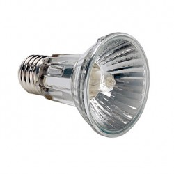 Lampe 230V avec réflecteur. PAR 20. 50W. 24 degrés. 2700K