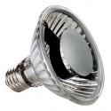 Lampe 230V avec réflecteur. PAR 30. 75W. 24 degrés. 2700K