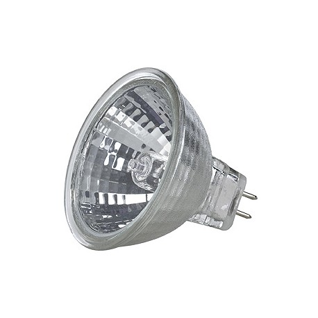 FN DIRECT BEAM MR16. 10W. 40 degrés. 2700K. réflecteur chrome