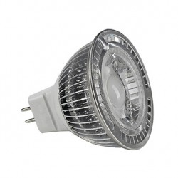 MR16 LED. 5W. blanc chaud. 30 degrés. non variable
