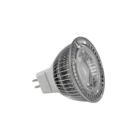 MR16 LED. 5W. blanc chaud. 60 degrés. non variable