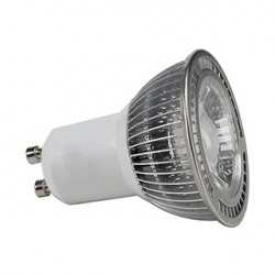 GU10 LED. 5W. blanc chaud. 30 degrés. non variable