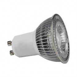 GU10 LED. 5W. blanc chaud. 60 degrés. non variable